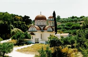 Church of Michaelis Archangelos, Astratigos, Kolimbari, Chania, Crete.
