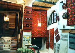 Crete. Weaving. Rokka Carpets. Chania.